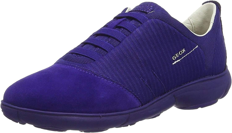 Geox D Nebula G, Baskets Basses Femme Bleu Dk Violetc8019
