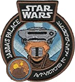 Star Wars Smugglers Bounty Exclusive Embroidered Leia as Boushh Jabba's Palace Patch