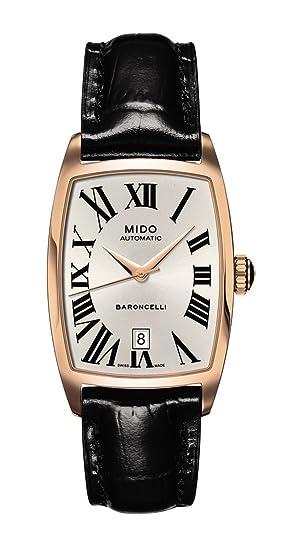 M0031073603300 - Reloj de mujer automático, correa de piel color negro