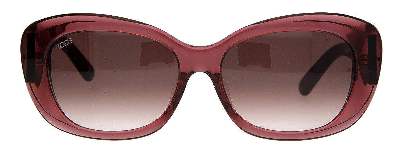 a68133ed7b Tods Femmes Lunettes de soleil Bordeaux TO0142-F-5771Z Femme