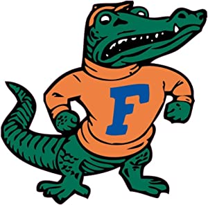 Florida Gators Albert The Mascot CreativeStickers0303 Set Of Two (2x) Stickers , Laptop , Ipad , Car , Truck , Size 4 inches on Longer Side