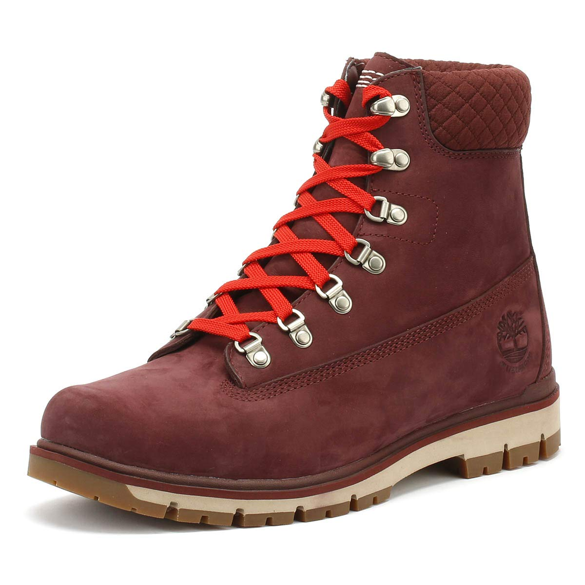 Timberland Mens Burgundy Radford 6 Inch D-Rings Boots  Amazon.co.uk  Shoes    Bags dfe05cc8a29