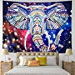 Leofanger Music Tapestry Wall Hanging Music Note Decor Tapestry Wall Tapestry Hippie Colorful Psychedelic Bohemian Mandala Tapestry Bedroom Home Dorm Decor