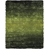 Feizy 4944551FGRN000A25 Indochine Area Rug, Green