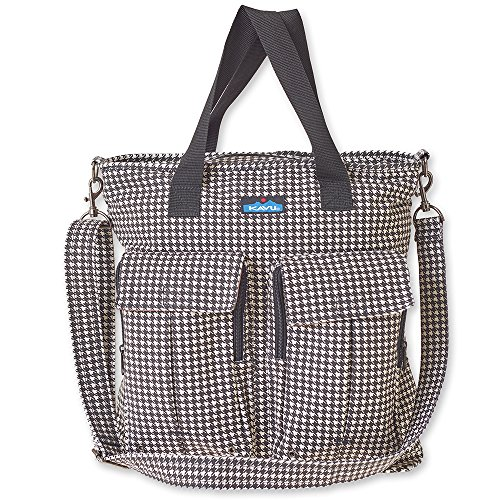 KAVU Women's Tricked Out Tote Bag, Houndstooth, One Size