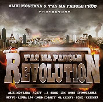 Cover Ecoutez ou téléchargez l'album T'as ma parole Révolution - T'as ma parole Révolution complet full zip