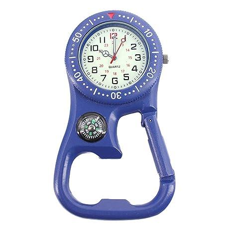 paletur88 Mosquetón Reloj 3en1 Digital Broche Gancho ...