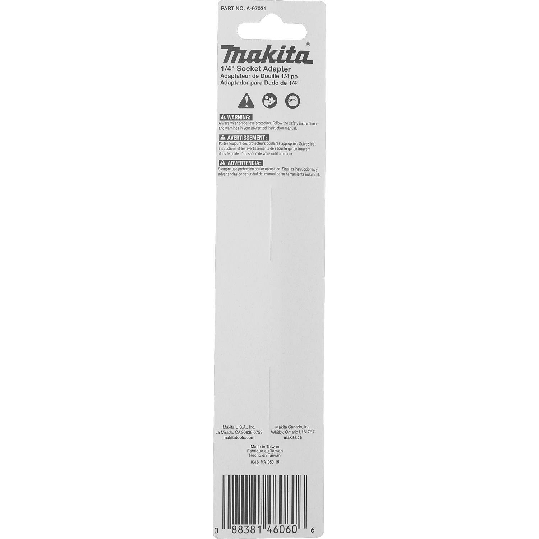 10 Pack Makita A-99362 Impactx 1//4/″ x 2/″ Socket Adapter Bulk