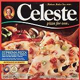 Celeste, Pizza for One, Suprema, 5.96 oz (frozen)
