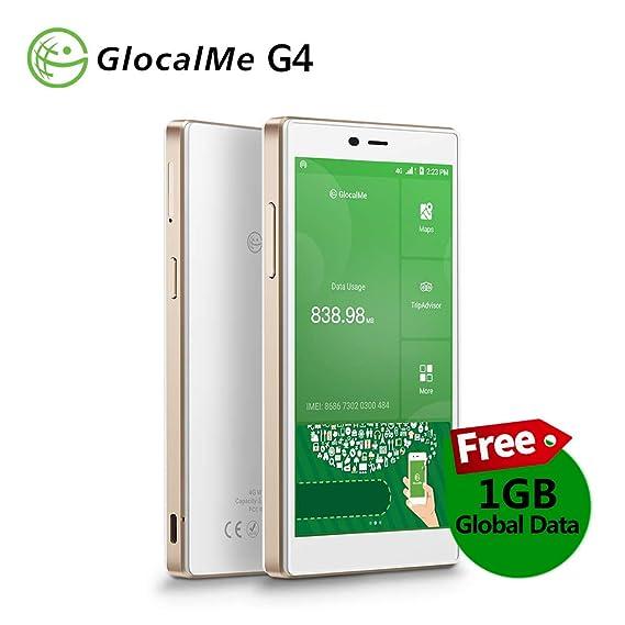 Amazon.com: GlocalMe G4 4G LTE punto de acceso móvil, en ...