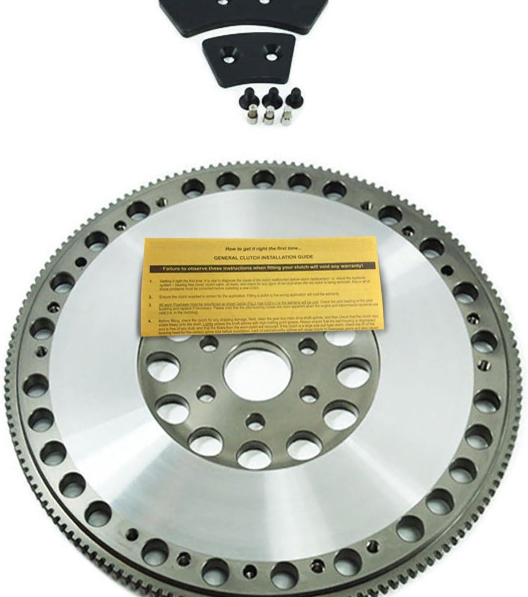EFT LIGHTWEIGHT CHROMOLY CLUTCH FLYWHEEL FOR 86-95 FORD MUSTANG GT COBRA SVT 5.0L V8
