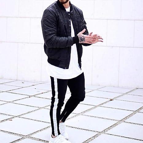 ... Fit Plus Size Training Pants Cotton Gym Fitness Leggings Tracksuit Bottoms Elastic Solid Sweatpants Sportwear for Men: Amazon.co.uk: Clothing