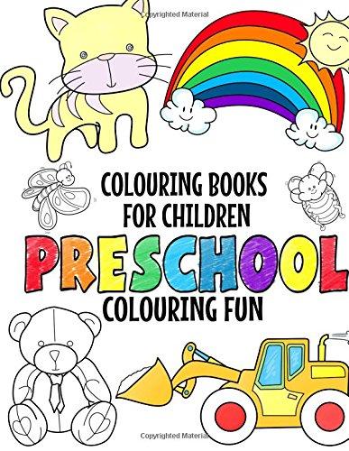Colouring Books For Children Preschool Fun Girls And Boys