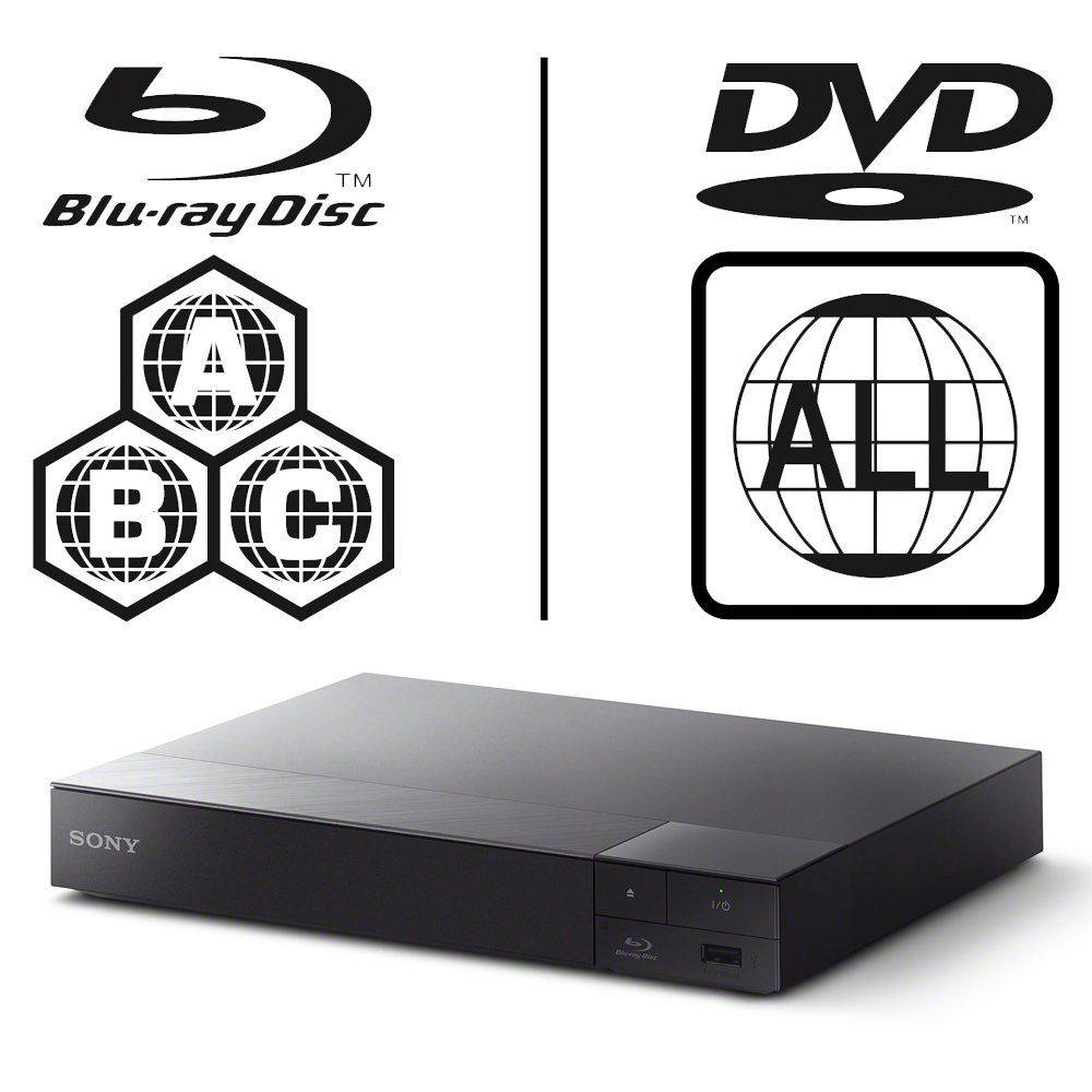 SONY BDP-S6700 4k Upscaling - 2D/3D - Wi-Fi - Blue Tooth - Multizone All  Region Code Free DVD Blu Ray Player - 2M HDMI Lead Included - 100~240V