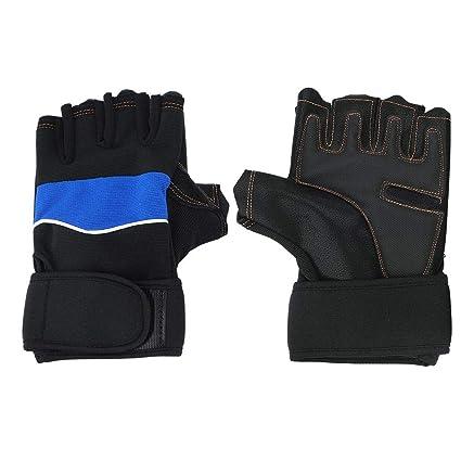Guantes de levantamiento de pesas para hombres / mujeres, guantes de entrenamiento para ciclismo,