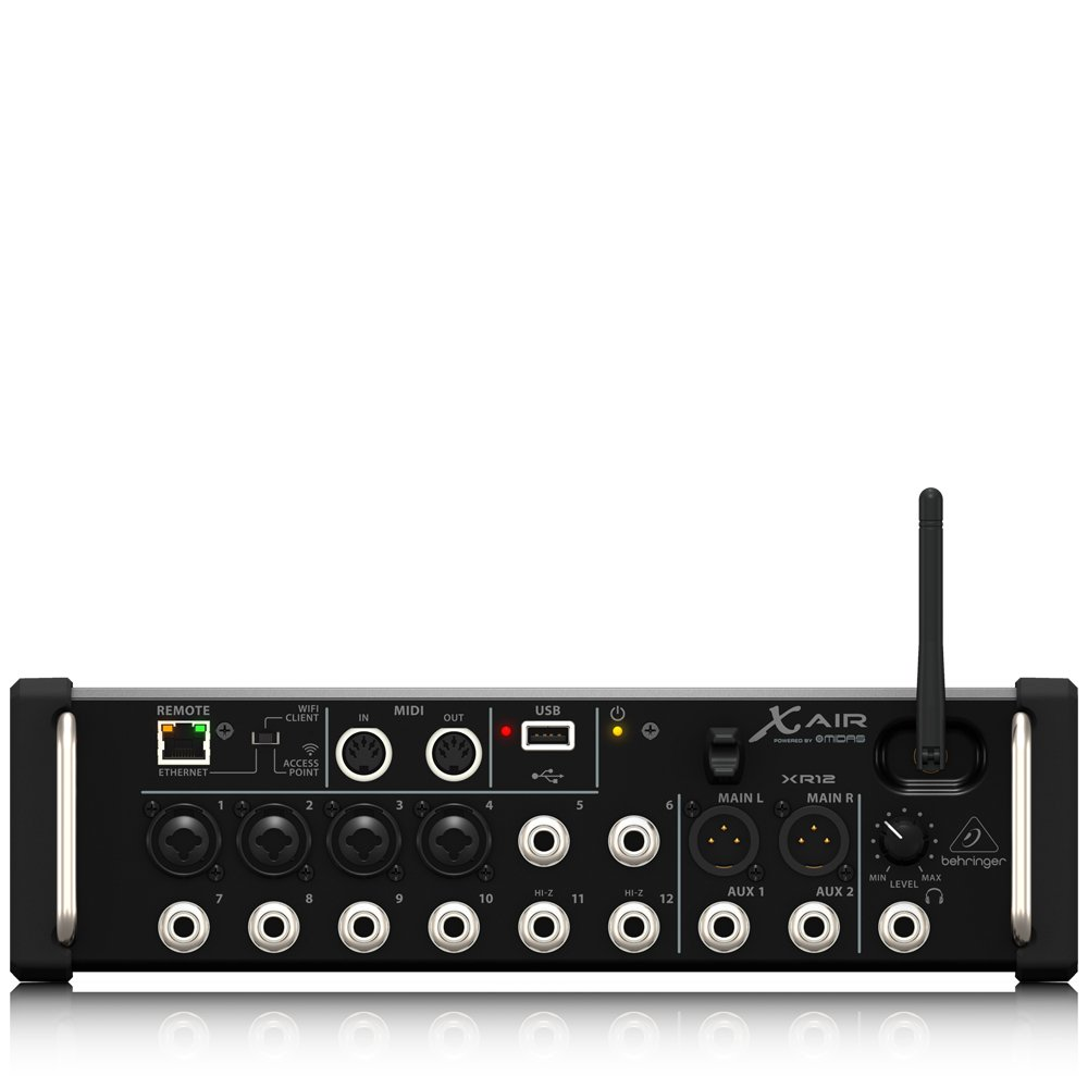 Behringer x air xr12 12 input digital mixer amazon musical behringer x air xr12 12 input digital mixer amazon musical instruments fandeluxe Image collections