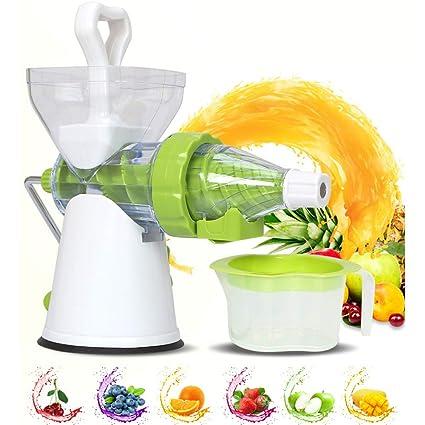 Amazon.com: Exprimidor semiautomático de frutas y verduras ...