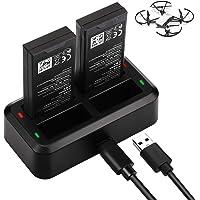 Keenstone Tello Cargador de Batería 4 en 1 Hub Charger Inteligente Cargador para dji Tello Drone Partes