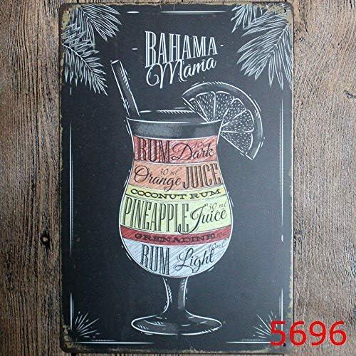 Poster Vintage Plaque Metallique Vintage Art D/éCoratif pour Bureau /à Domicile Bar Caf/é Toruiwa