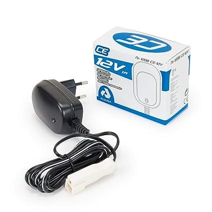 INJUSA-Cargador de batería 12 V, Multicolor, (993)