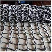 Swingset Climbing Nets for Kids Adult 12mm Rope 10cm Mesh Cargo Net Army Climbing Ladder Large Outdoor Indoor