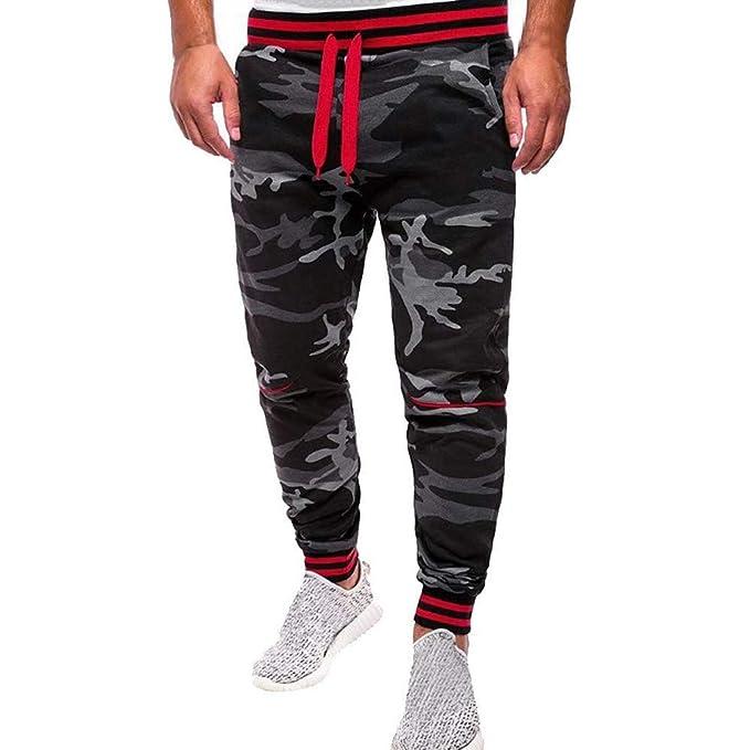 Pantalons De Jogging pour Femmes Minces Camouflage Patchwork Cordon À La Taille  Élastique Pantalons De Survêtement Sport Pantalon Décontracté  Amazon.fr   ... 7f8dde318d93