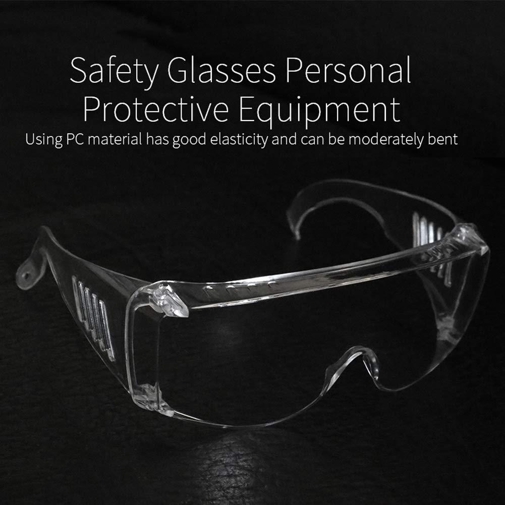 Centraliain Gafas De Seguridad Transparentes Anti Gotitas Anti Niebla Gafas De Seguridad Protector Ocular Vidrio Protector