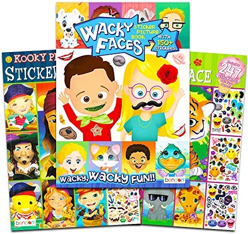 Sticker Books Toddlers Stickers Activity