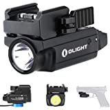 Olight PL-Mini 2 Valkyrie 600 Lumens CW LED Tactical Flashlight Magnetic Rechargeable with Adjustable Rail,Powered by a Built