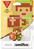 Nintendo Wii U: Amiibo Link 8 Bit - The Legend of Zelda - Figurina