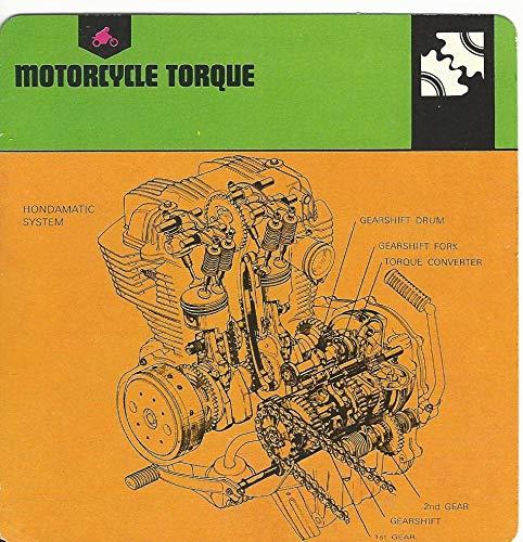 (1978 Edito-Service, Automobile Rally Card, 46.16 Motorcycle Torque)