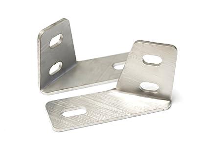 Amazoncom Ijdmtoy Pair Heavy Duty Stainless Steel Saddlebag Rail