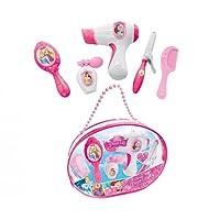 Smoby - 320142 - Disney Princess Sac Beauté - + 5 Accessoires - Sèche Cheveux Électronique