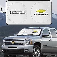 JYMAOYI for Chevrolet Sunshade Chevy Windshield Visor Film Cover Car Window Sun Shade UV Protect for Express Lumina…