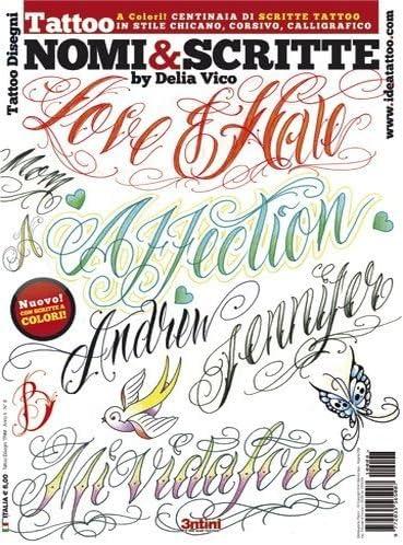 The Tattoo Shop - Libro con nombres y firmas para tatuajes: Amazon ...