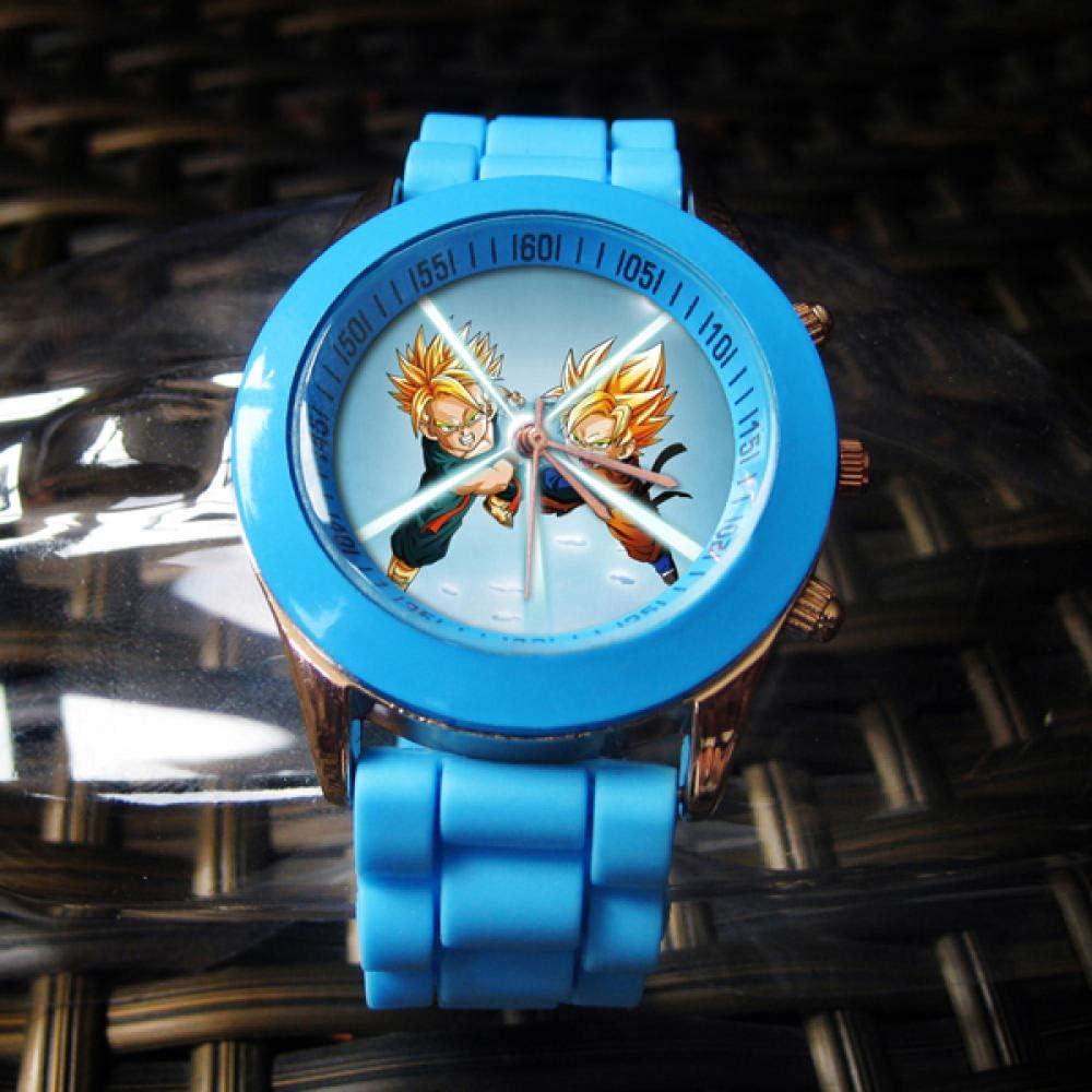 Relojes de Pulsera Bestia Parasitaria Dragon Ball Seven Original Sin Anime Japonés Periférico Personalidad Estudiante Masculino Y Femenino De Dibujos Animados Reloj Infantil