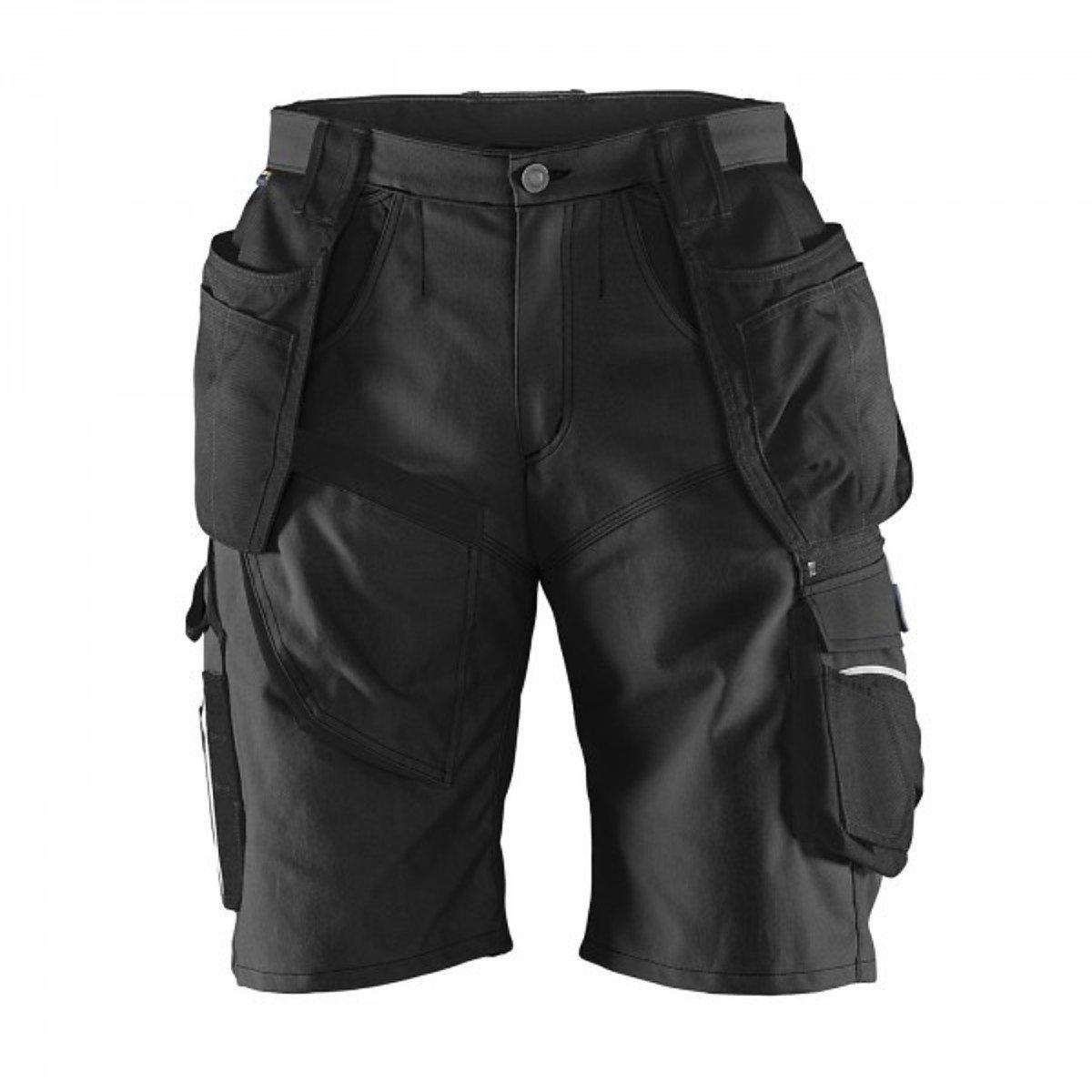Kü bler 24519314 –  99 –  52 Pantalones Cortos practiq tamañ o, Negro, 52 Kübler 24519314-99-52