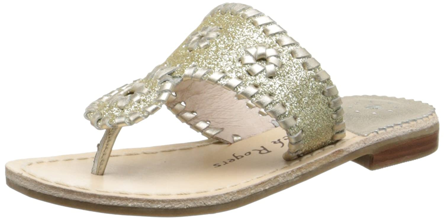 Jack Rogers Miss Sparkle Thong Sandal Toddler/Little Kid/Big Kid B016Y2GY8O
