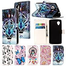 Nexus5 Case,IVY [Kickstand & Relief] Nexus 5 Wallet Phone Case [ID&Credit Card Pockets][Snow Wolf] PU Leather Cover Flip Wallet Case For LG Nexus 5 Phone