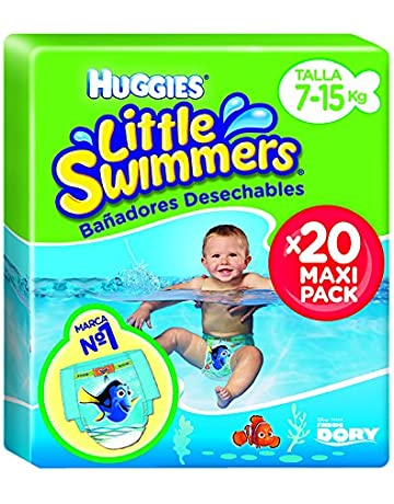 d79cf1782 Huggies 2900251 Little Swimmers 20 Couches Maxi Pack Taille 3 4 7-15 kg