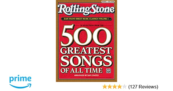 Rolling Stone Easy Piano Sheet Music Classics Vol 1 39 Selections