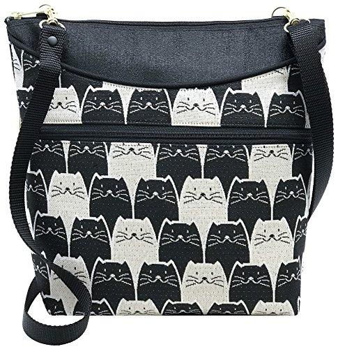 Danny K Women's Tapestry Bag Crossbody Handbag, Maggie Purse Handmade in the USA