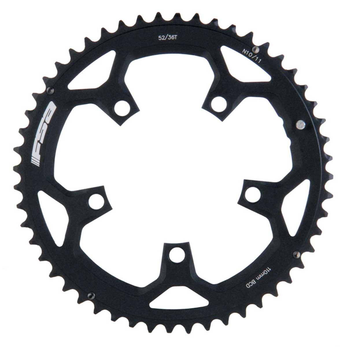 FSA Pro Road自転車Chainring – 52t-110 mm B00O9FA9XK52T/110mm