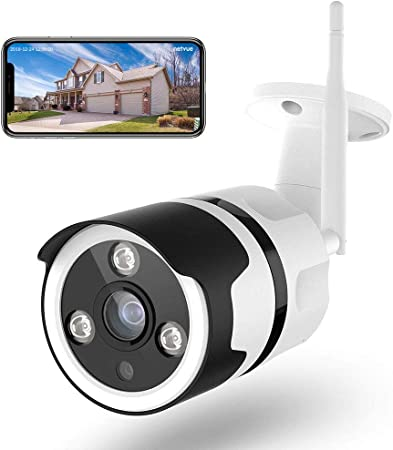 Security Camera Outdoor ALLRIER 1080P Full HD Home Surveillance Cameras for Home Security Camera with Waterproof Night Vision Motion Detection Surveillance Camera Full HD.