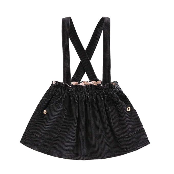 Amazon.com: Marc Janie - Falda para bebé o niña con tirantes ...