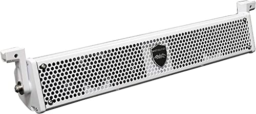 Wet Sounds Stealth-6 Core-W Passive 6-Speaker Soundbar - White