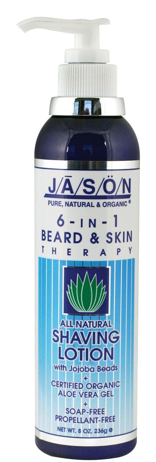 Jason Natural Products 6 In 1 Aloe Shaving Creme 8 Oz