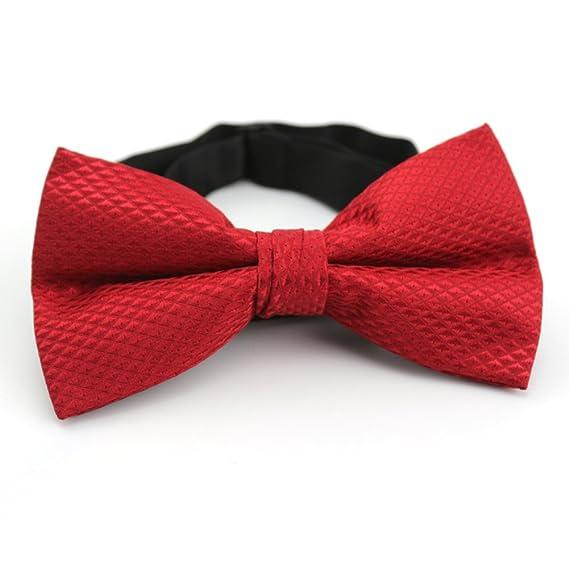 Corbatas Casual Rojo Joker Bowtie/Temperamento Moda Pajaritas-rojo ...
