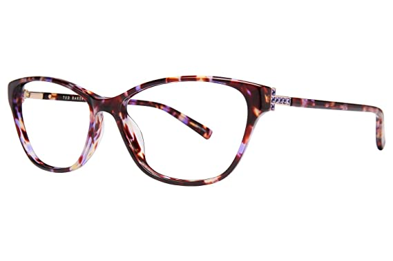 c406157d0225 Amazon.com  Ted Baker B737 Womens Eyeglass Frames - Purple Tortoise ...