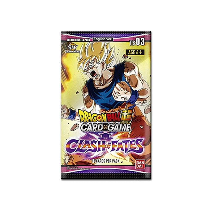 Dragon Ball Super Clash Of Fate Booster Display 24 Set 3